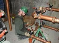 our plumbers do full scale repiping service